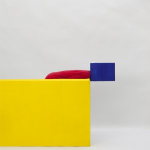 Detail Primary Colors composition with Yellow, Blue and Red | Zaida Oenema | Galerie Untitled | Beschikbaar
