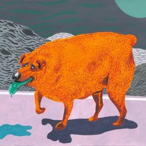 ACE (2015) | 35 x 27 cm | Gouache op papier | Origineel | Johan Kleinjan | Gallery Untitled