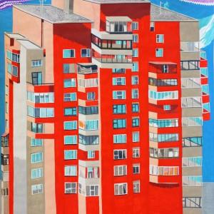 Moestuin (2014) | 69 x 93 cm | Gouache op papier | Origineel | Johan Kleinjan | Gallery Untitled