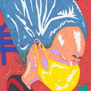 De Koreaan | Origineel | Potlood op papier | 21 x 30 cm | Johan Kleinjan | Gallery Untitled