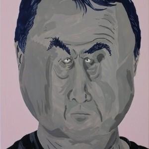 Mikhail (2014) | 30 x 40 cm | Olie op doek | Origineel | Johan Kleinjan | Galerie Untitled
