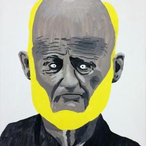 Richard (2014) | 30 x 40 cm | Olie op doek | Origineel | Johan Kleinjan | Galerie Untitled