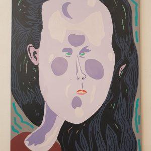 De Expert | Origineel | Acryl- en olieverf | 70 x 100 cm | Johan Kleinjan | Gallery Untitled