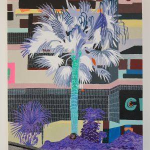 Dead End | Origineel | Acryl- en olieverf, oliepastel en potlood | 61 x 72 cm | Johan Kleinjan | Gallery Untitled