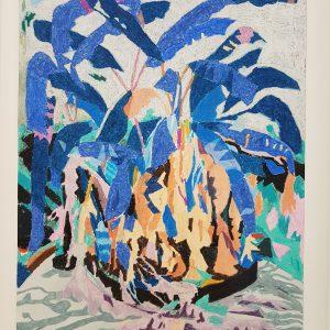 Kleine achtertuin | Origineel | Potlood op papier | 53 x 70 cm | Johan Kleinjan | Gallery Untitled