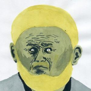 Grigorii (2014) | 15 x 20 cm | Pigment en inkt op papier | Origineel | Johan Kleinjan | Gallery Untitled