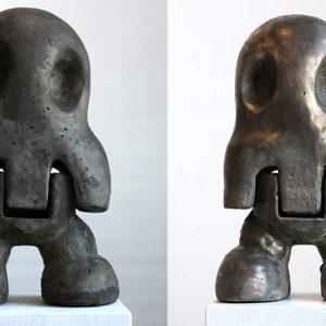 Schakelstukken/Pion | Hoogte: 25 cm | Concrete in cast | Origineel | Sander Buijk | Gallery Untitled