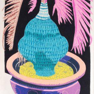 Dikke Palm (2015) | 70,4 x 53 cm | Pastelkrijt op papier | Dikke Palm (2015) | 70,4 x 53 cm | Pastelkrijt op papier | Gallery Untitled | Gallery Untitled