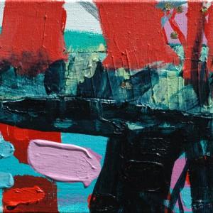 Hesperiden #5 (2015) | 30 x 40 cm| Acrylverf, emulsie op canvas | Origineel | Sasja Hagens | Gallery Untitled