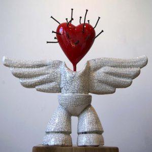 Angelum Cicaro | Hoogte: 43 cm | Keramiek e.d. | Oplage: 8 + 2 AE | Sander Buijk | Gallery Untitled