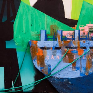 Twilight / Santa Rita (2014) | 170 x 300 cm | Mixed media | Origineel | Sasja Hagens | Gallery Untitled