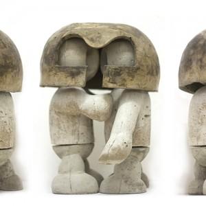 Geschakeld 2 | Beton & brons | Oplage: 8 + 2 AE | Sander Buijk | Gallery Untitled