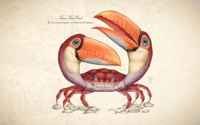 Tucanogemina Carcinoforma| Origineel & Print | Raoul Deleo