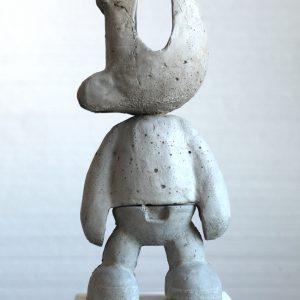 Paard | 30 x 14 cm | beton / alu-cement | Oplage: onderdeel schakelstukken | Sander Buijk | Gallery Untitled