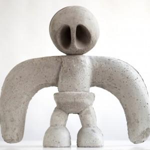 Vogel | Hoogte: 70 cm | Beton | Oplage 6 + 2 AE | Sander Buijk | Gallery Untitled