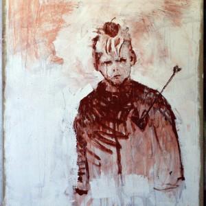 Geschonden vertrouwen | 150 x 120 cm | Acrylverf | Nelis Oosterwijk | Galerie Untitled | Beschikbaar