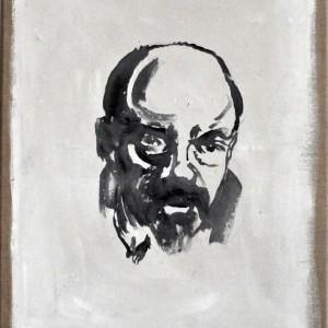 Lenin | 70 x 30 cm | Nelis Oosterwijk | Galerie Untitled | Beschikbaar