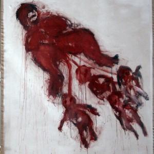 Moederaarde 2 | 180 x 200 cm | Acrylverf | Nelis Oosterwijk | Galerie Untitled | Beschikbaar