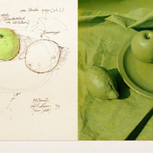Stilleven groen (1973) | Oosterwijk & van Pieterson | Galerie Untitled | Beschikbaar