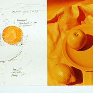 Stilleven oranje (1973) | Oosterwijk & van Pieterson | Galerie Untitled | Beschikbaar