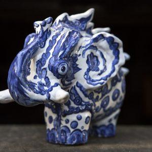 Monster Elephant | Hoogte: 17 cm | Keramiek | Pepijn van den Nieuwendijk | Gallery Untitled
