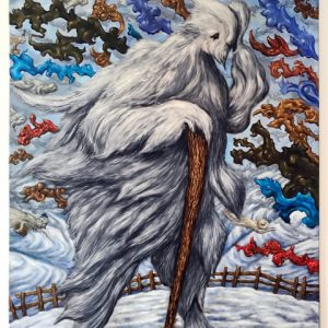 Exodus der Geesten | Origineel | 100 x 75 cm | Olieverf op doek | Pepijn van den Nieuwendijk | Gallery Untitled