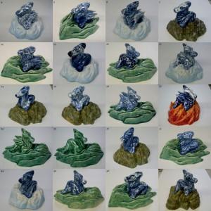 Draakjes serie | Keramiek | Pepijn van den Nieuwendijk | Gallery Untitled