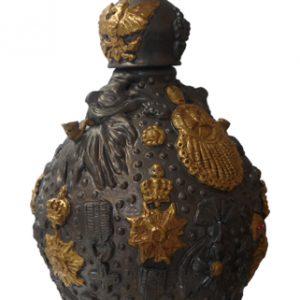 Bärtige Kaiser | Origineel | Hoogte 65 cm | Keramiek | Pepijn van den Nieuwendijk