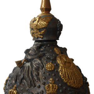 Bärtige Kaiser detail | Origineel | Hoogte 65 cm | Keramiek | Pepijn van den Nieuwendijk