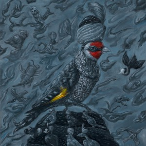 De Verrijzenis (2014) | 33,5 x 22,8 cm | Olieverf op paneel | Pepijn van den Nieuwendijk | Gallery Untitled