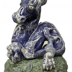 Dragons of Ming serie (2012) | Hoogte: ca. 15 cm | Keramiek | In opdracht van Heden, kunst van nu | Pepijn van den Nieuwendijk | Gallery Untitled