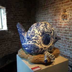 Fuping bird (2009 – 2014) | 50 x 40 x 50 cm | Keramiek | Pepijn van den Nieuwendijk | Gallery Untitled