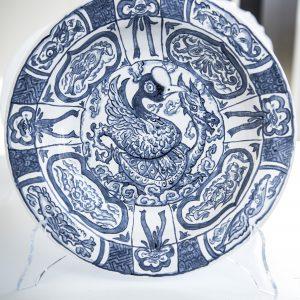 Le Blue de Caraque | diameter 23/28 cm | Keramiek | Pepijn van den Nieuwendijk | Gallery Untitled