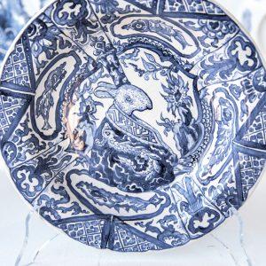 Le Blue de Caraque | diameter 23/28 cm | Keramiek | Origineel | Pepijn van den Nieuwendijk | Gallery Untitled