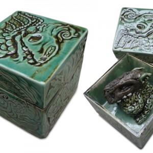 Monsterbox serie | 12 x 12 cm | Keramiek | Pepijn van den Nieuwendijk | Gallery Untitled
