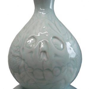 Monstres de la mer detail (vaas) | Origineel | Hoogte 38 cm | Keramiek | Pepijn van den Nieuwendijk | Gallery Untitled