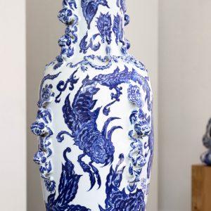 Shenhua vaas | porselein | 100 x 50 cm | Pepijn van den Nieuwendijk | Gallery Untitled