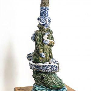 The guard | Keramiek | hoogte 50,5cm | Pepijn van den Nieuwendijk | Gallery Untitled