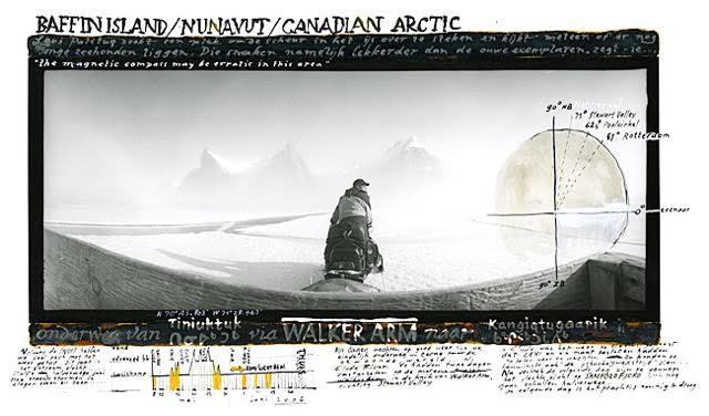 Baffin Island | Origineel | 31 x 22 cm | Ontwikkelgelatinedruk en mixed media | Rens Horn | Gallery Untitled