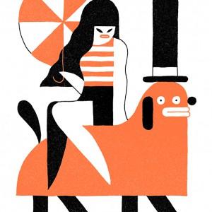 Pin up | Levi Jacobs | Oplage: 15 | 29,7 x 42 cm | Fine art print | Beschikbaar