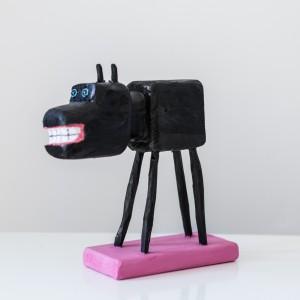 Untitled (Kleine Borderliner) | Hoogte: 20 cm | Hout | Origineel | Peter Bastiaanssen | Gallery Untitled