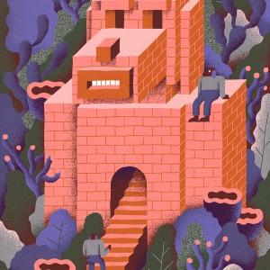 Temple of Dog | Levi Jacobs | Oplage: 100 | 60 x 80 cm | Fine art print in lijst | Beschikbaar