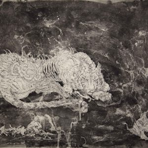 Abject of the night |56 x 76 cm | Etching | Jazz-Szu-Ying | Editions of 8 | Gallery Untitled