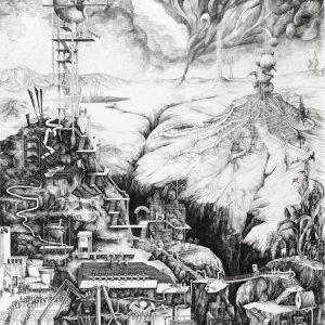 The Objective Truth Factory | 105,5 x 78,53 cm (excl. lijst) en 50,9 x 69,1 cm (excl. lijst) | Fine art print | Carlijn Kingma | Gallery Untitled