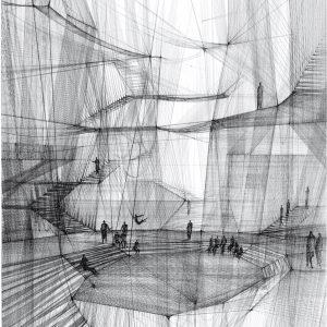 Morality of the Network | 86,84 x 53,95 cm (excl. lijst) en 66,8 x 41,5 cm (excl. lijst) | Fine art print | Carlijn Kingma | Gallery Untitled