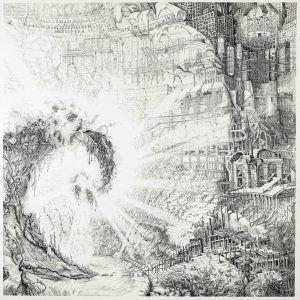 Chronicles of Gaia | 110 x 110 cm (incl. lijst)| Fine art print | Carlijn Kingma | Gallery Untitled