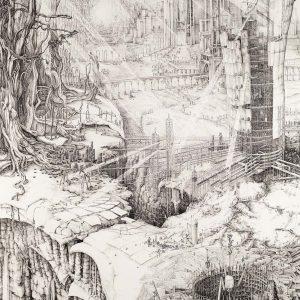 Stargazers & Gravediggers | Editie: 70 + 2 AP | 104 x 140 cm | fine art print in houten lijst | gesigneerd en genummerd | Carlijn Kingma | Gallery Untitled