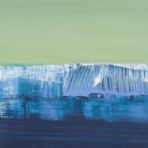 Antarctica | 20 x 40 cm | Olieverf op hout | Jose op ten Berg | Gallery Untitled
