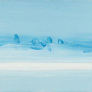 Antarctica | 13 x 30 cm | Olieverf op hout | Jose op ten Berg | Galerie Untitled