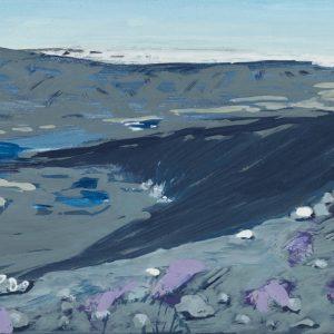 Avannamuut 25 x 35 cm | Ei-tempera op linnen | Jose op ten Berg | Gallery Untitled